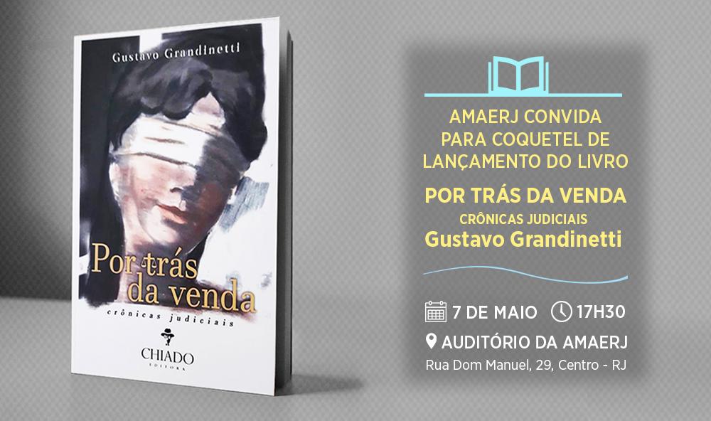 Gustavo Grandinetti lança livro com coquetel na sede da AMAERJ