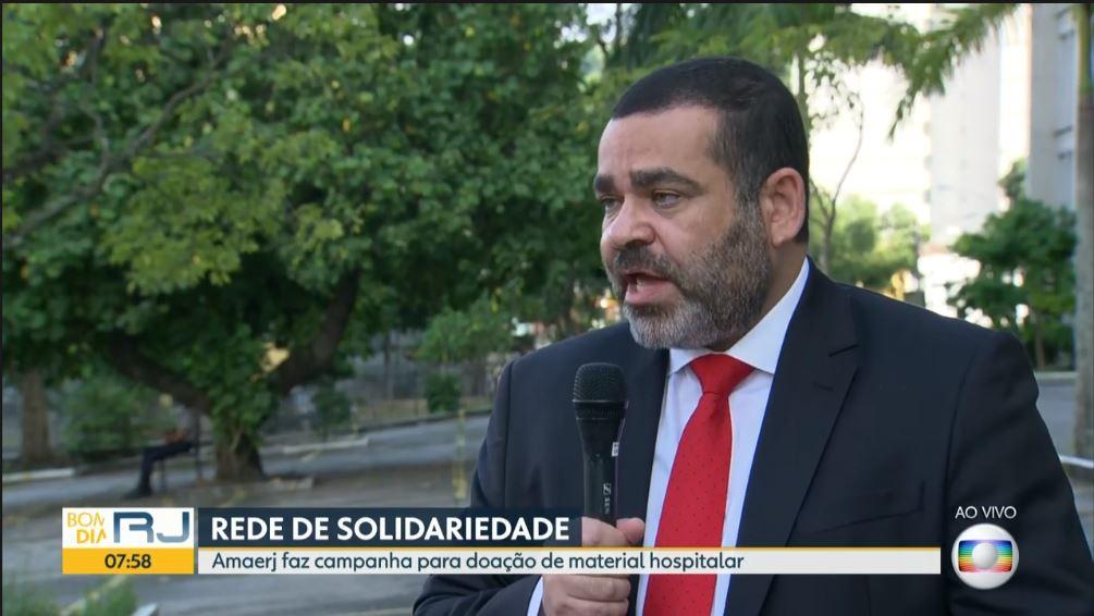 Em entrevistas à Globo, Felipe Gonçalves incentiva doações