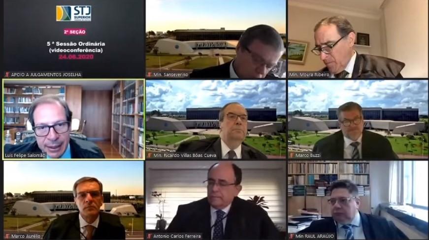 Ministros do STJ homenageiam desembargador Sylvio Capanema